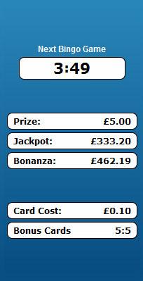 bingo liner 75 ball bingo game payouts prizes jackpots