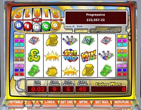 bingo liner slots of bingo 5 reel online slots game