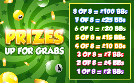 bingo liner promo pot of gold prizes